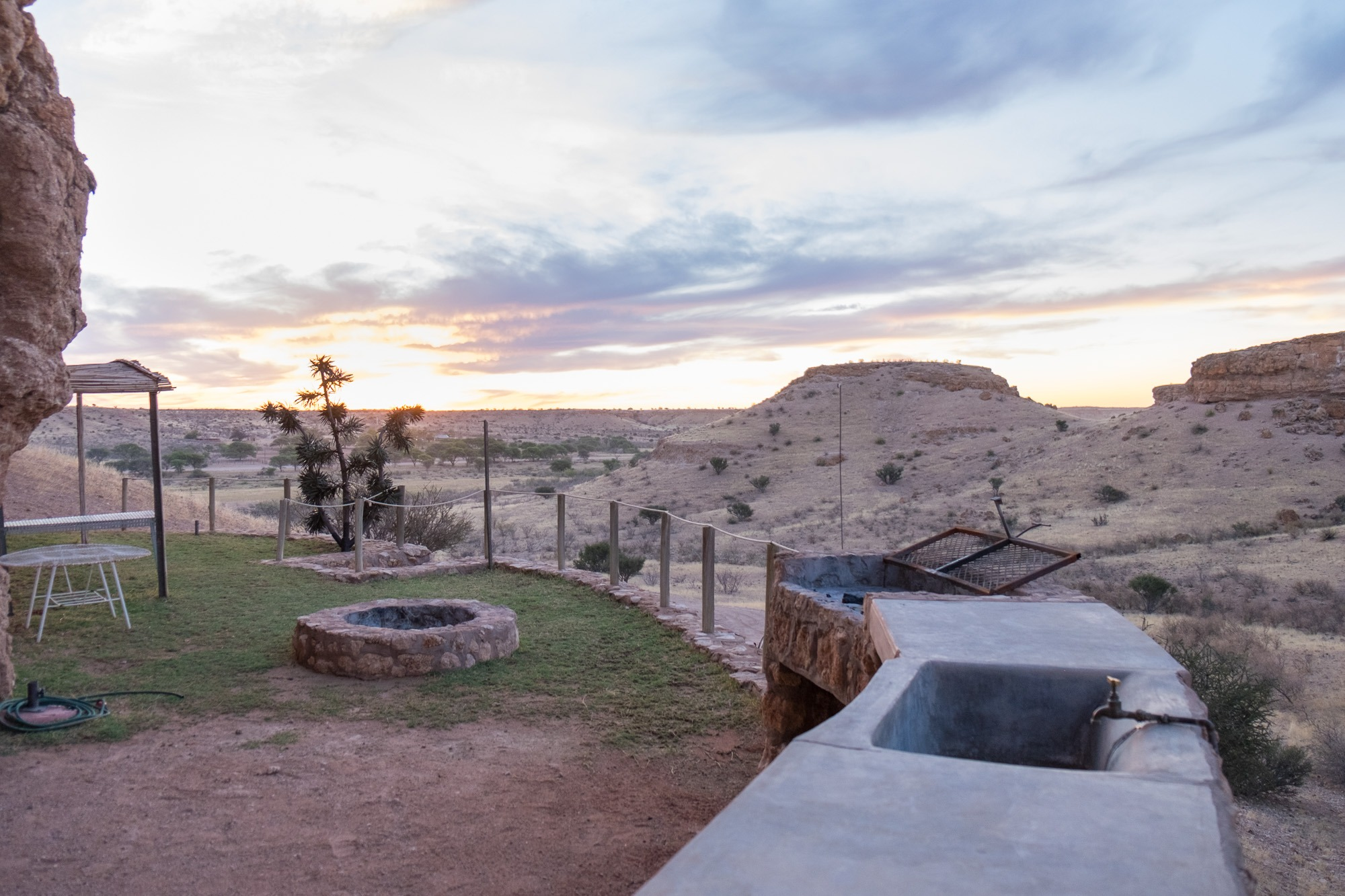 Parzelle am Wildermoor Nature Camp in Namibia