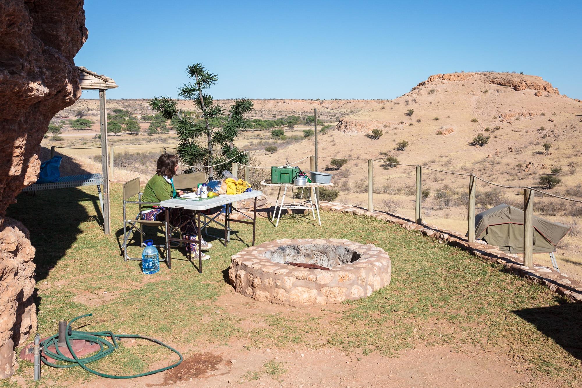 Wildmoor Rest Camp Camping Zeltplatz in Namibia