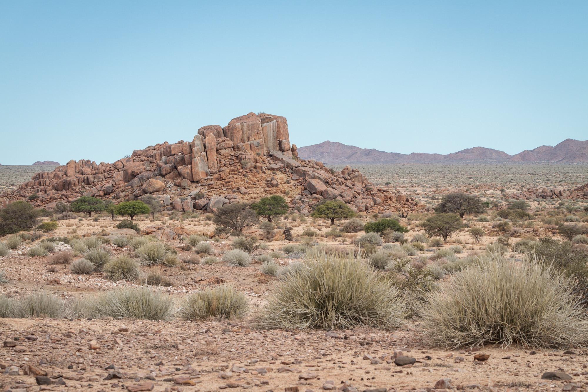 Felswueste im Gondwana Nature Park Namibia