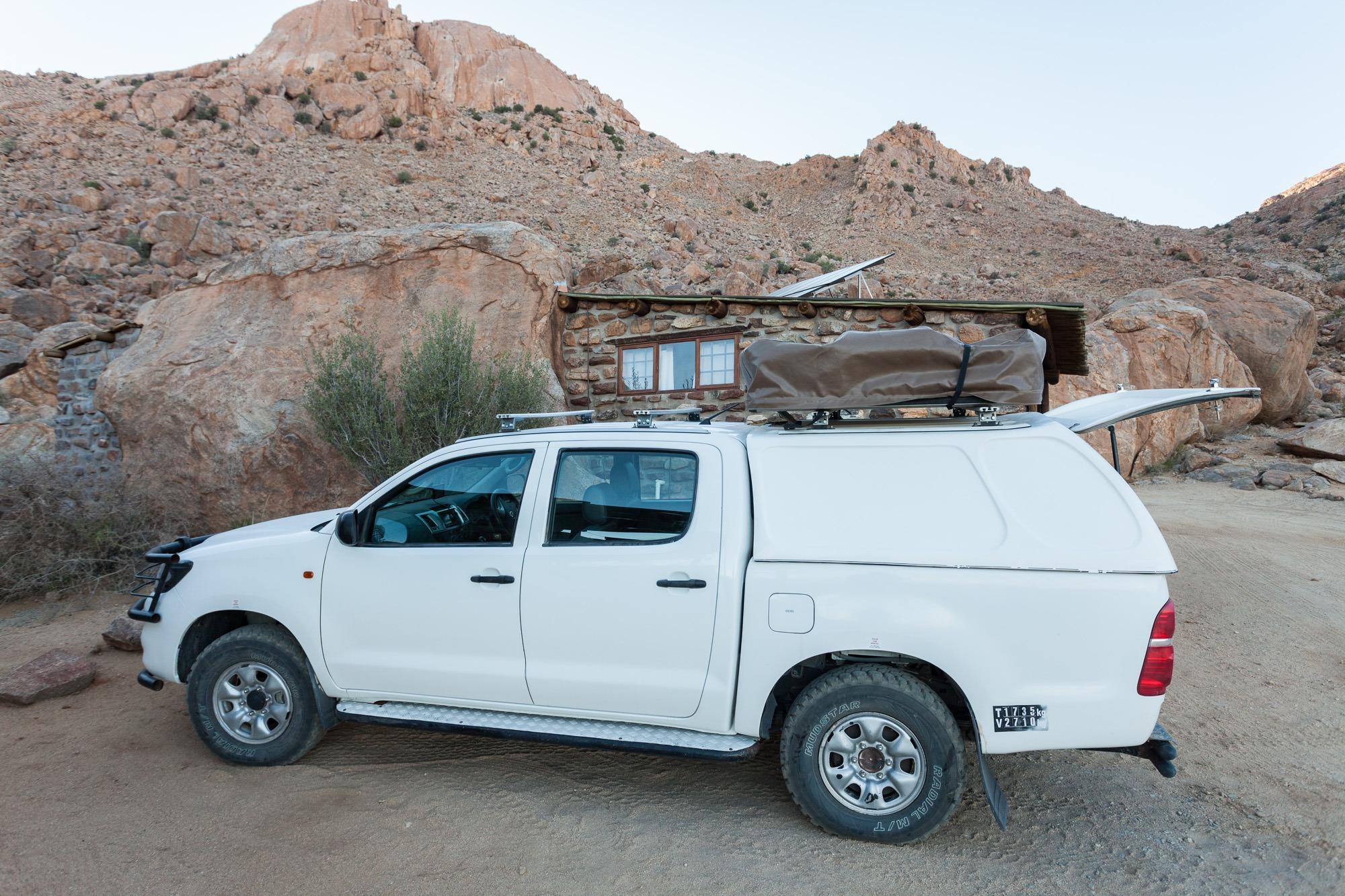 Toyota Hillux Morgendämmerung Klein Aus Vista Namibia