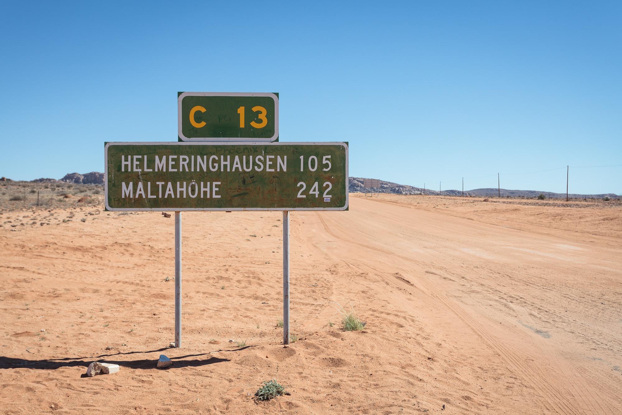 Namibia C13 Helmeringhausen und Maltahöhe