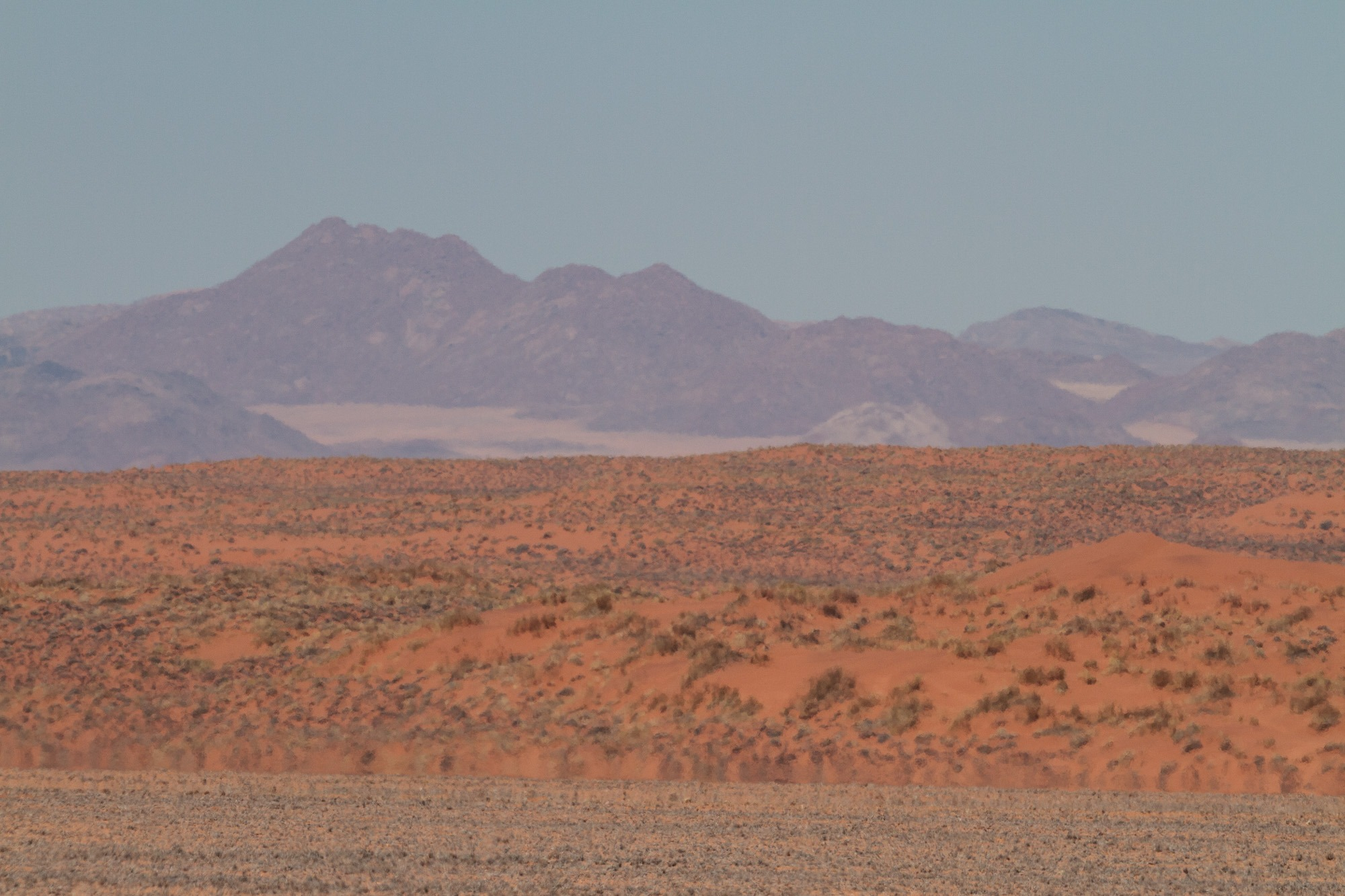 Namib Wüste und Tirasberge entlang der D707 in Namibia