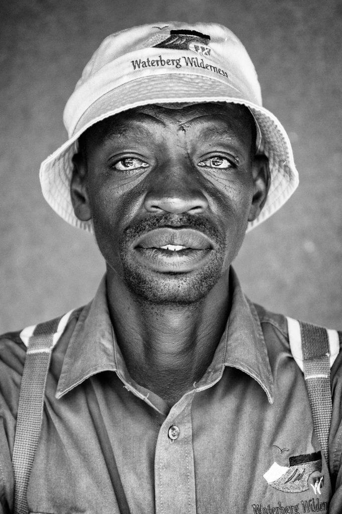 Schwarz-Weiß Portrait von Vincent Stranger Nummer 22 von 100.