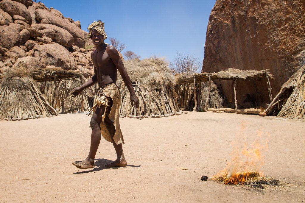 Damara Living Museum - Lebendes Museum Twyvelfontein Namibia
