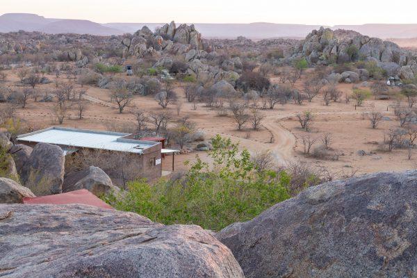 Überblick Hoada Campsite in Namibia