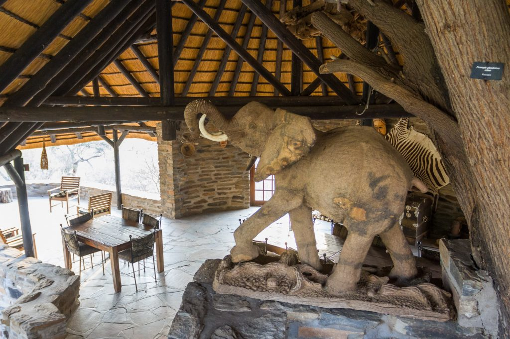 Restaurant und Bar Duesternbrook Guest Farm in Namibia