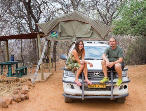 Tag 19: Etosha National Park – Waterberg Plateau Campsite, 326km