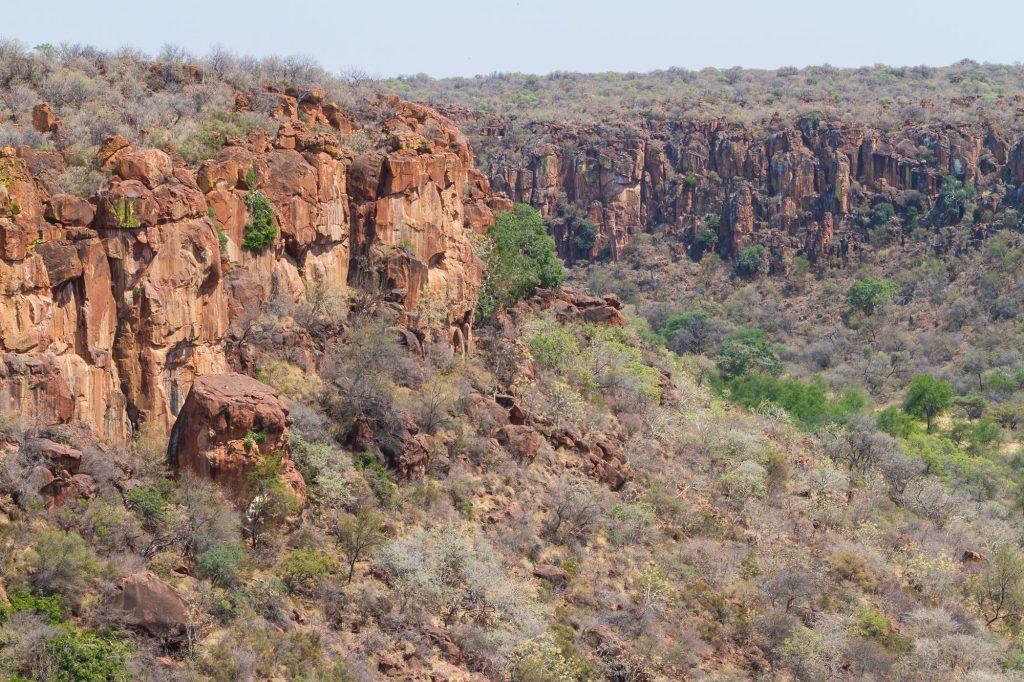 Aussicht vom Waterberg Plateau, Namibia
