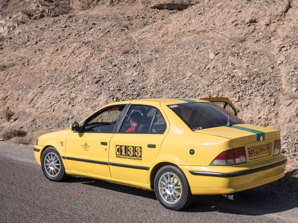Iranisches Taxi