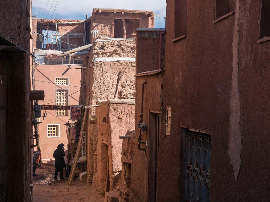 Straße Abyaneh