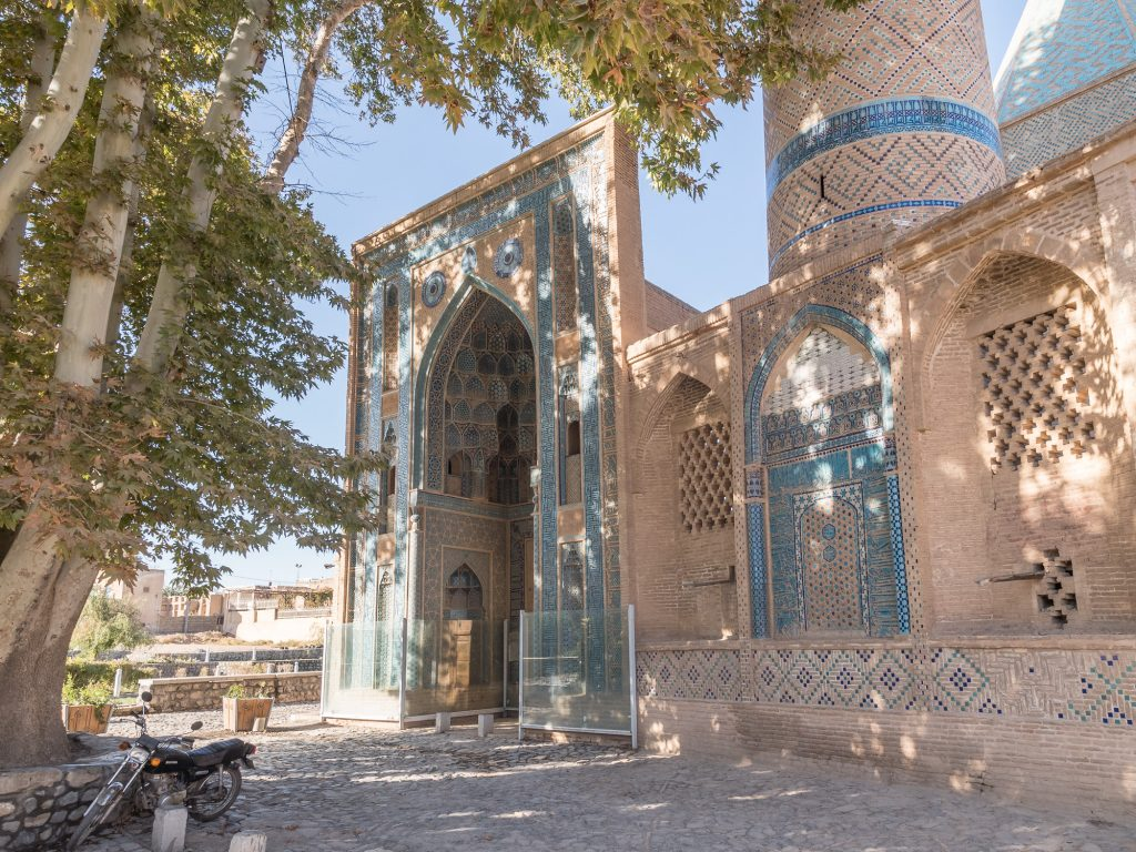 Portal der Sheikh Abdolsamad Mosque